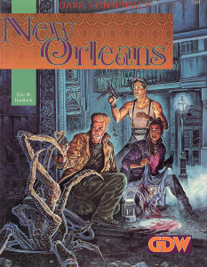 GDW2101 - Dark Conspiracy - New Orleans (MJS)